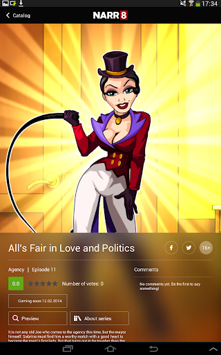 【免費漫畫App】Agency — Motion Comic-APP點子