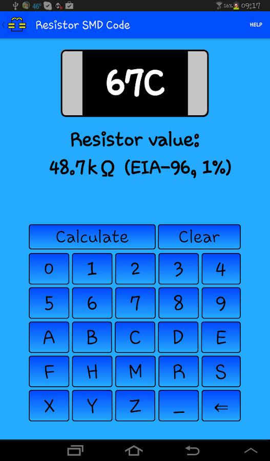Analog electronics Toolbox - screenshot