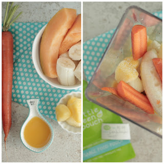 Cantaloupe Twist On-the-Go Smoothie