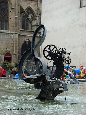 Fuente Stravinsky, París, Elisa N, Blog de Viajes, Lifestyle, Travel