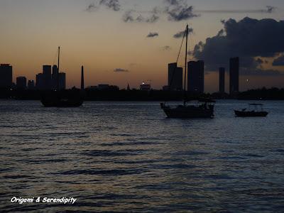 Caída del sol, Bayside, Miami Beach, Florida, Elisa N, Blog de Viajes, Lifestyle, Travel