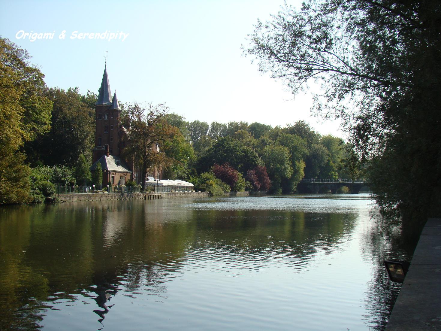 Lago del Amor, Brujas, Bélgica, Elisa N Blog de Diseño de Viajes