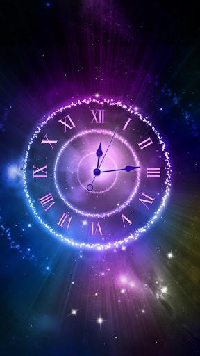 Shining Clock Live Wallpaper