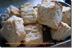 killer biscuits on platter