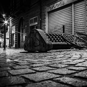 Thefts and Bikes by Fabio Grezia - City,  Street & Park  City Parks