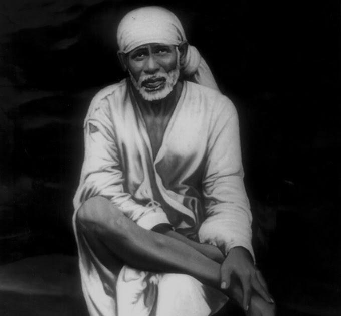Sai Wallpaper: Shirdi Sai Baba High Clarity Photograph