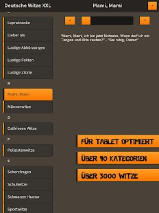 Deutsche Witze XXL- screenshot thumbnail