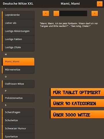 android Deutsche Witze XXL Screenshot 1