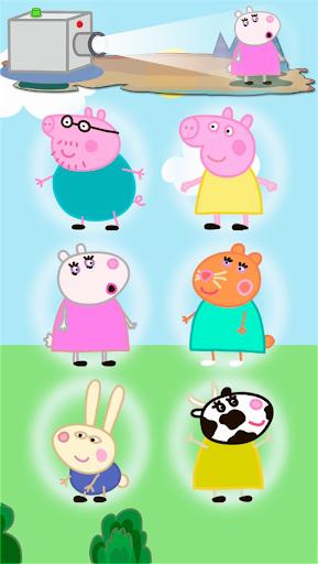 粉紅豬小妹。嬰兒遊戲 PRO