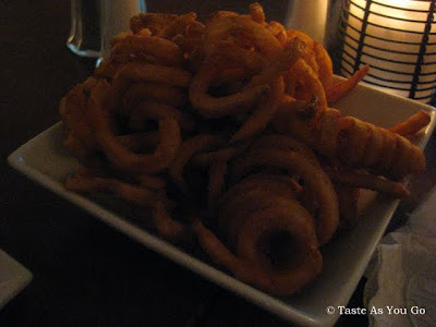Curly Fries at Faces & Names in New York, NY | Taste As You Go