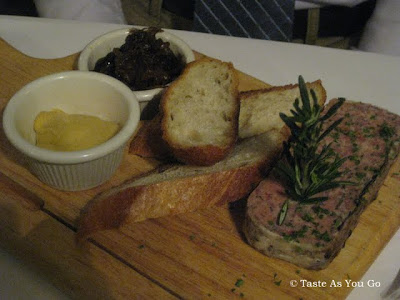 La Terrine de Canard et sa Garniture at Le Paris Bistrot in New York, NY - Photo by Taste As You Go
