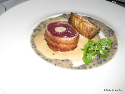 Yellowfin Tuna at The River Cafe - Photo by Taste As You Go