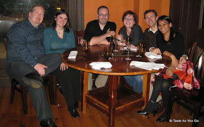 Friends at Osteria in Philadelphia - Photo by Taste As You Go
