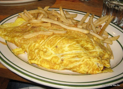 Guacamole Omelette at Jackson Hole Restaurant in New York, NY - Photo by Taste As You Go