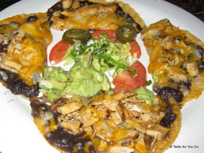 Drunken Nachos at Tacocina in New York, NY - Photo by Taste As You Go