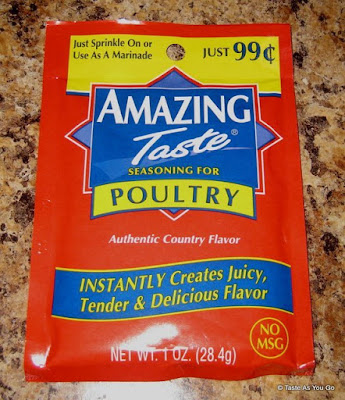 Amazing Taste Seasoning for Poultry - Photo by Taste As You Go