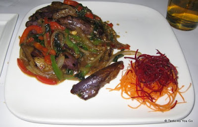 Sauteed Eggplant with Vegetables at Rhong Tiam in New York, NY - Photo by Taste As You Go