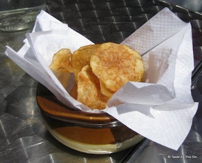 Complimentary Potato Chips at Masso in Long Island City, NY | Taste As You Go