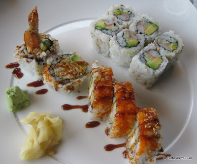 Sushi Lunch Special at Sushi Siam in Long Island City, NY - Photo by Taste As You Go