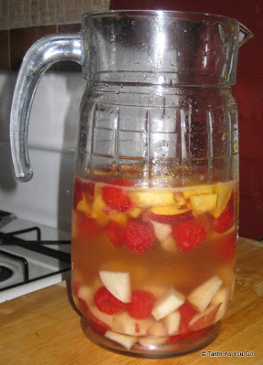Quick and Easy White Sangria - Photo by Taste As You Go