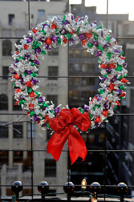 Hershey's Kisses Wreath | Photo Courtesy of JSH&A Public Relations