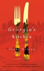 Cover Art for Georgia's Kitchen by Jenny Nelson