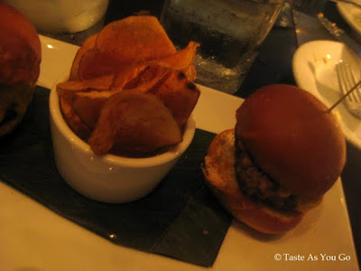 Grilled Angus Burger Slider at Cafeteria in New York, NY - Photo by Taste As You Go