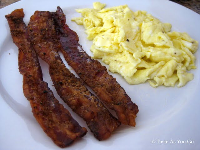 Sweet and Spicy Bacon | Taste As You Go