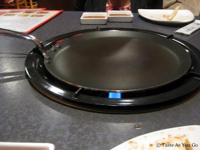 Shabu Shabu Grill Pan at Red & Black in New York, NY - Photo by Taste As You Go