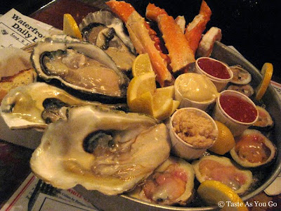 Neptune Platter at The Waterfront Crabhouse in Long Island City, NY - Photo by Taste As You Go