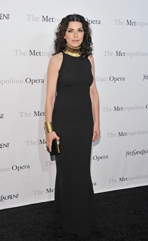 Julianna Margulies attends the Metropolitan Opera's gala premiere