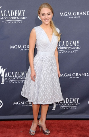 AnnaSophia Robb arrives at the 46th Annual Academy Of Country Music Awards