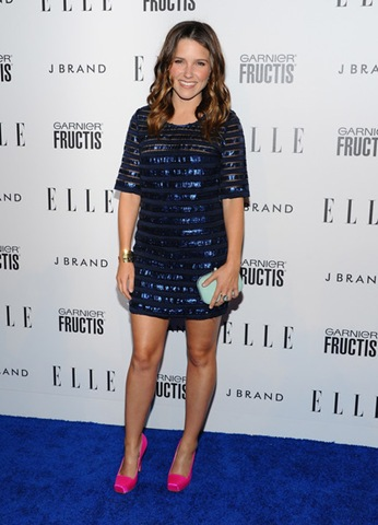Sophia Bush arrives at ELLE's 2nd Annual Women In Music Event