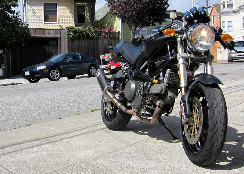 2000 monster 750 with lots of upgrades - $3500 obo - ducati