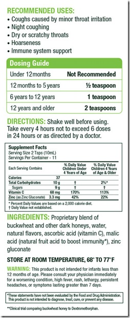 Zarbee S All Natural Children S Cough Syrup Review It S