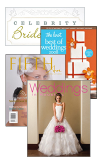 the knot best of weddings, celebrity bride guide, houston weddings magazine, fifth ave magazine