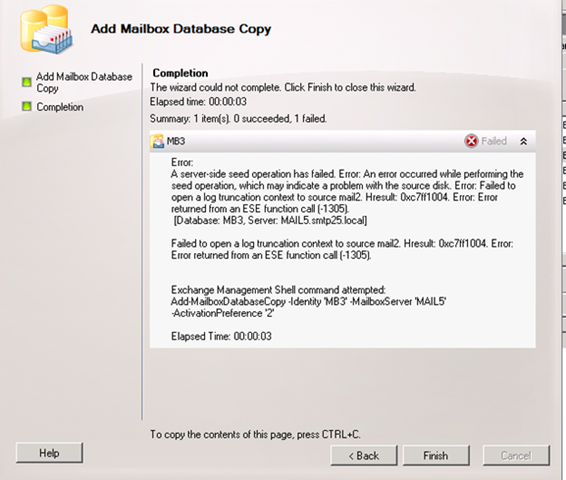 Exchange Server and Active Directory Blog: A server-side seed ...