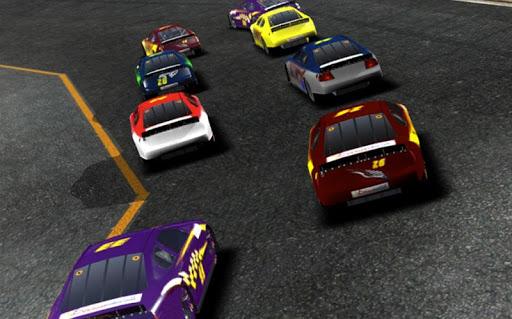 在3D赛车比赛