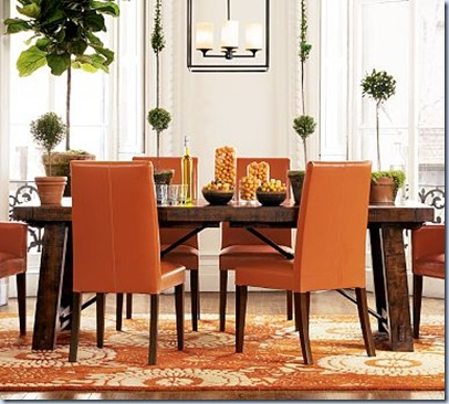 Orange_Dining_Set_from_Pottery_Barn willowdecor