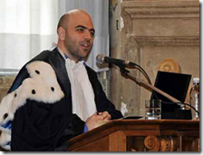 Roberto Saviano all'università di Genova