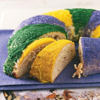 Traditional New Orleans King Cake Recipe.