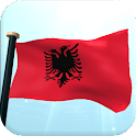 Albania Flag 3D Free Wallpaper icon
