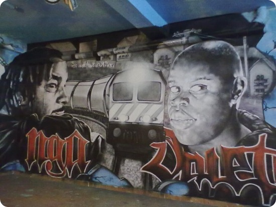 Nga X Valete X Graffite