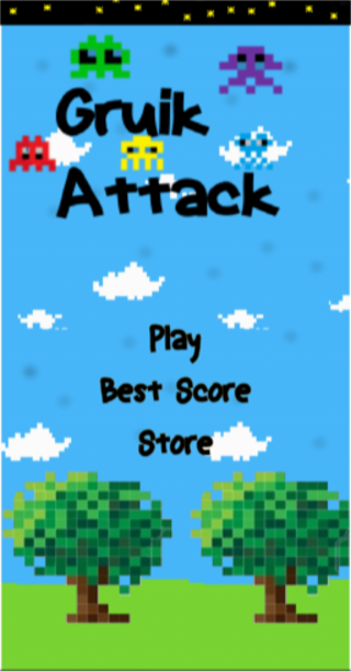 Gruik Attack- screenshot