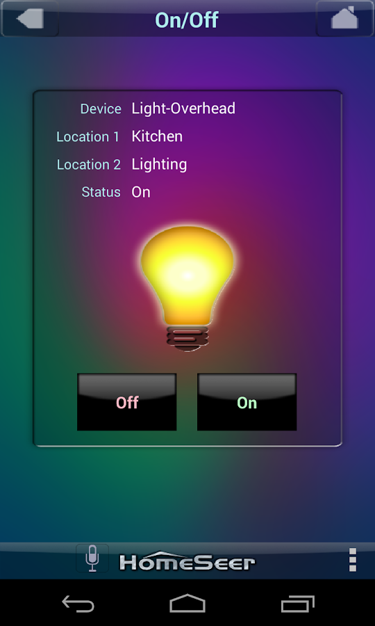 HSTouch Home Automation - screenshot