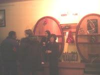Degustation avant Noel au Caves des Vignerons.