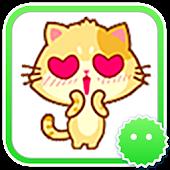 Stickey Kawaii Cat
