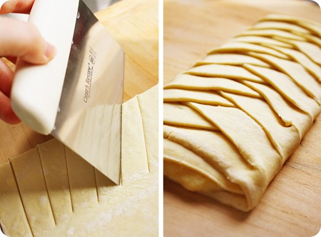 Orange Cheese Danish Pastry