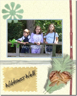Scrapbooking Page
