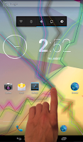 Screenshot of Electric Thunder Screen